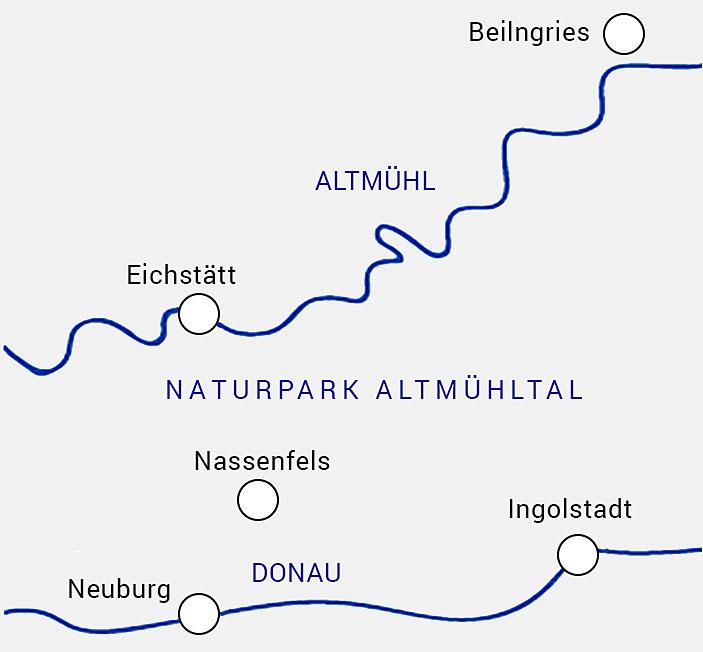 Streckenkarte - Jägle GbmH