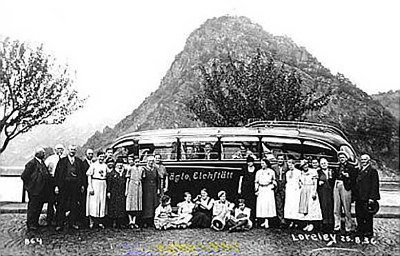 Familie Jaegle 1927 - Jägle-Bus