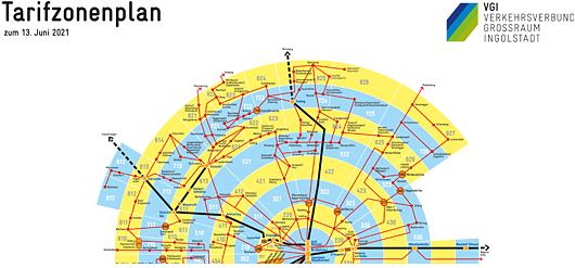 Tarifzonenplan VGI - Jägle Bus